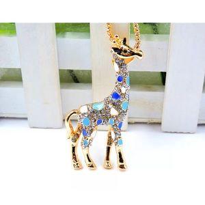 Cutie Giraffe Long Chain Necklace